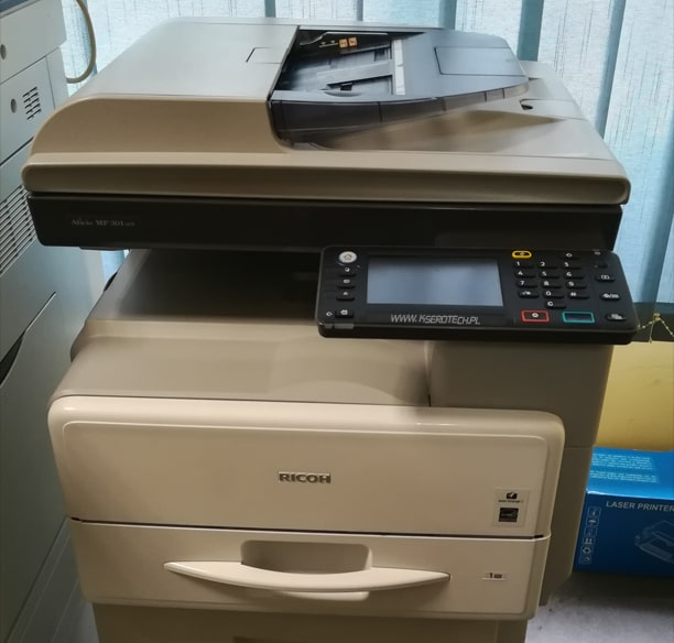 drukarka dwustronna ze skanerem kolorowym do biura