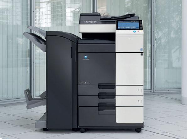 czaro biala sieciowa kserokopiarka biurowa Bizhub 364