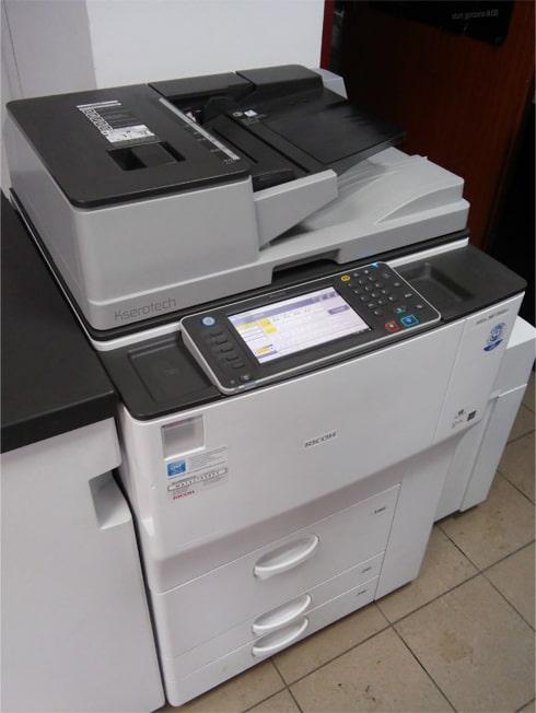 kserokopiarka o wysokiej wydajności i niskich kosztach utrzymania Ricoh mp 6002